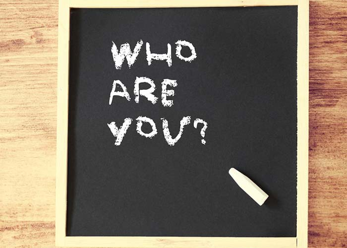 This is an image that says who are you.This is an image that says who are you.